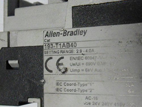 Allen Bradley 193-T1AB40 Bi-Metallic Overload Relay 2.9-4.0A by Allen-Bradley (Image #4)