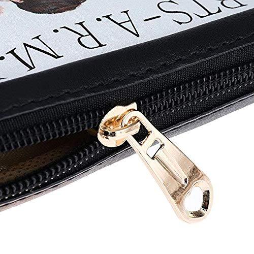 Fancyku Kpop BTS Bangtan Boys Pencil Case BTS Pouch Coin Bag School Supplies BTS Stationery Gift Zipper Bag (H11)