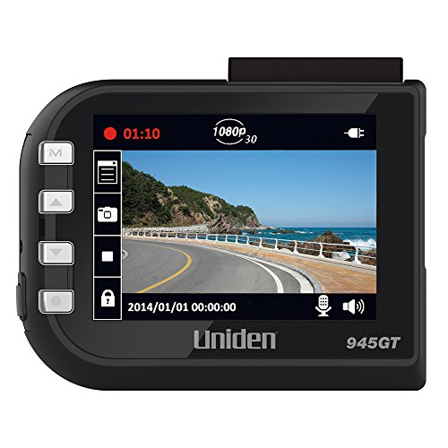 Uniden DC4GT Full HD Dash Camera with GPS and Red Light C...