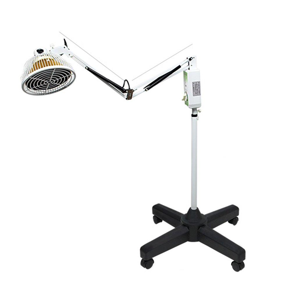 ZHIRONG 電気ヒートランプ理学療法装置、家庭用医療多機能TDP電磁波治療遠赤外線関節炎鉛直ヒートランプ、回転ランプキャップ B07F7QZ3CW