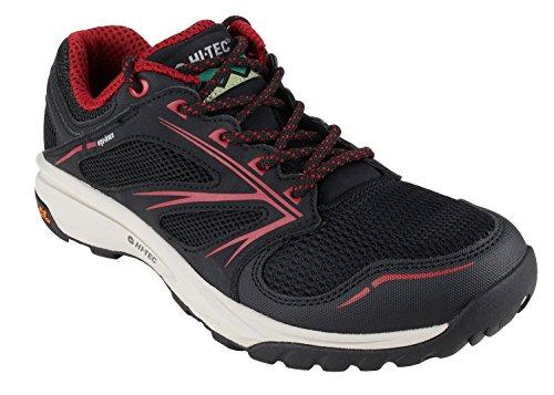 HI-TEC Outdoor Shoes Speed Life Breathe Ultra Men Black-Core Red-Warm Grey Size EU 43 - US M10 best to buy