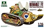 TAKom 1:16 French Light Tank Renault FT Char Canon /Girod Turret NO. 1001 by Takom