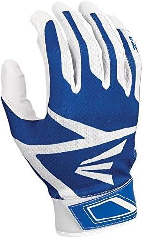 Easton Z7 Hyperskin Batting Gloves Youth Small Medium Large White Black Blue