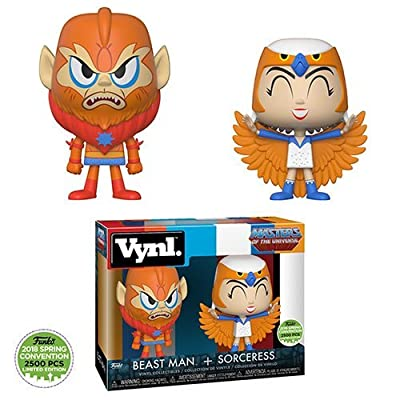 Funko Master of the Universe Sorceress and Beastman VYNL 2-Pack Emerald City Comic Con ECCC 2020 Exclusive: Funko: Toys & Games