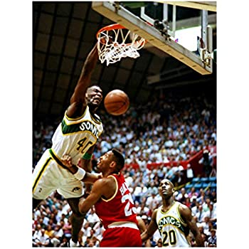 a1dac4a49558b Amazon.com: omgposters DJ0241 Shawn Kemp Dunk Seattle Supersonics ...