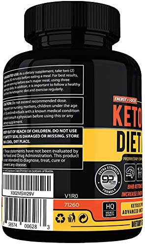 Keto Burn Diet Pills - Instant Ketosis BHB Supplement for Women and Men - Advanced Weight Loss, Energy & Focus - 60 Capsules 3