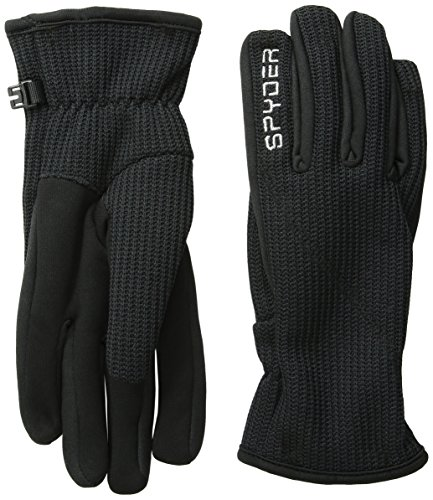 Spyder Women's Core Sweater Conduct Gloves, Black, Medium