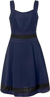 Happy-day Women Dress Causal Vintage Dresses,Summer Dresses for Women Size 16,Long Dresses for Women Evening