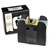 6. Brybelly 6 Deck Automatic Card Shuffler - Battery-Operated Electric Shuffler - Great for Home & Tournament Use for Classic Poker & Trading Card Games