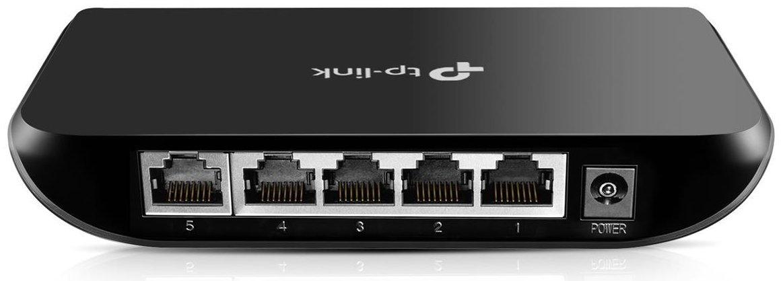 TP-Link 5 Port Gigabit Ethernet Network Switch | Ethernet Splitter | Plug-and-Play | Traffic Optimization | Unmanaged (TL-SG1005D) by TP-Link