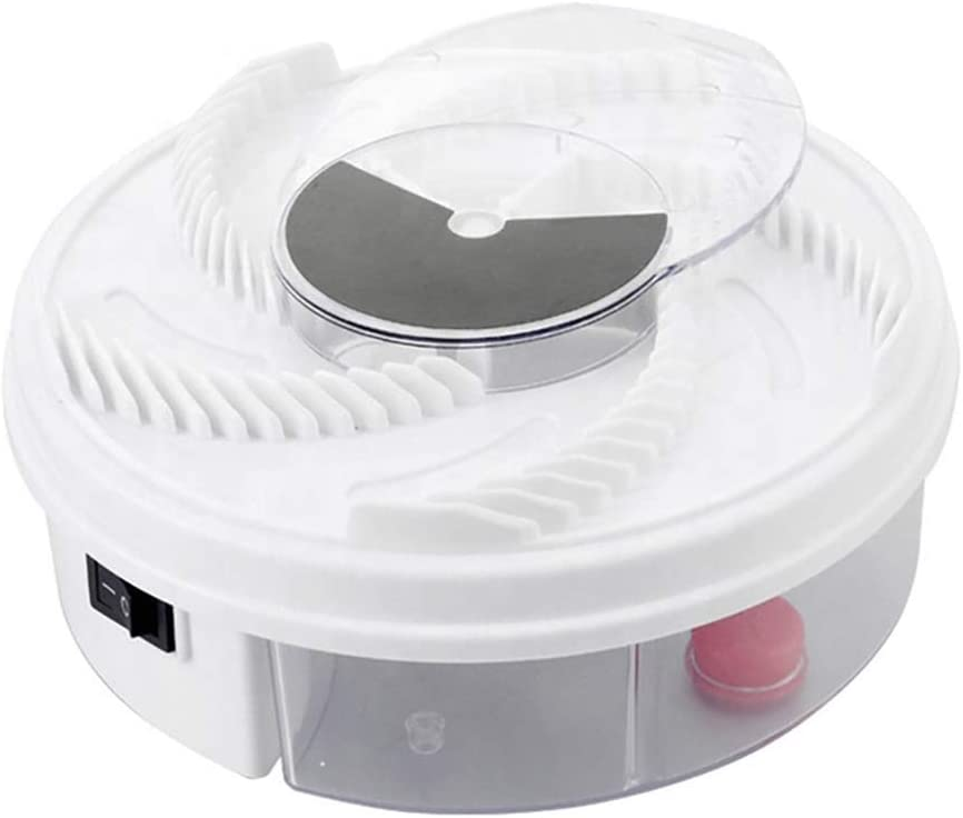 Rotating Electric Indoor Fly Trap Catcher | Killer Device Catches and Traps Flies Indoors with Your Own Bait