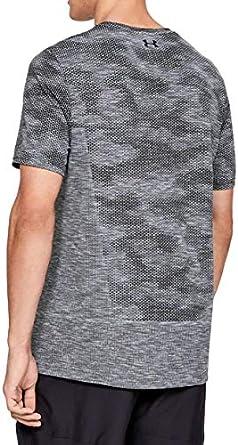 Under Armour Mens Mens Siphon Short Sleeve Camo Novelty Short Sleeve
