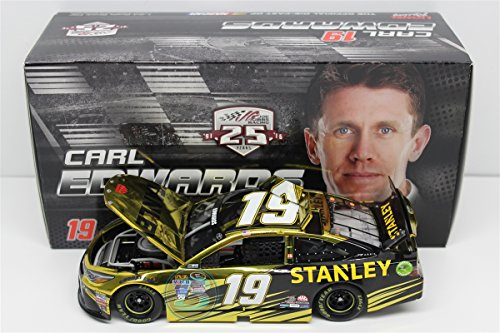 Lionel Racing Carl Edwards #19 Stanley 2016 Toyota Camry NASCAR Diecast Car (1:24 Scale), Chrome