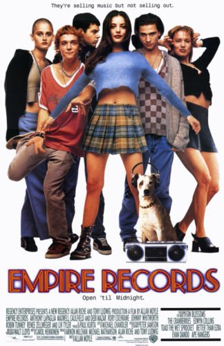 Twenty-three 24X36 Inch canvas poster Empire Records - Movie Poster ()