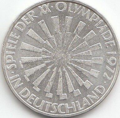 Brd Brdeutschland Jägernr A 401 1972 J Vorzüglich Silber 10 Dm