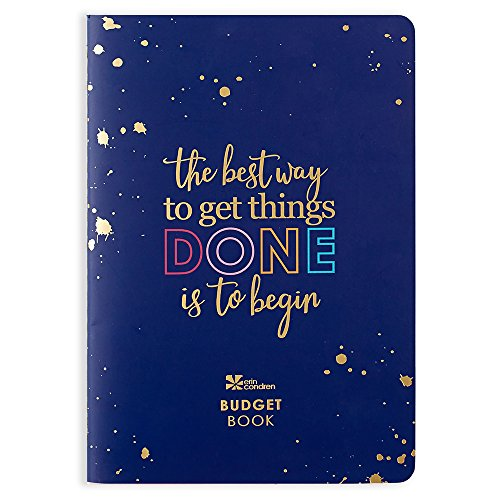 Erin Condren Financial Planner/Budgeting Planner Organizer Book, Twelve Month Expenses Planner (PetitePlanner) with Debt Tracking, Stickers & Quote Sheet