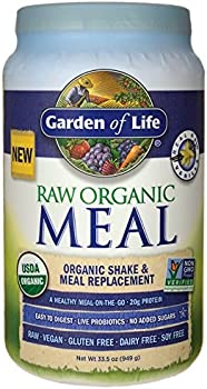 Garden of Life Meal Replacement 28 Servings Vanilla Powder