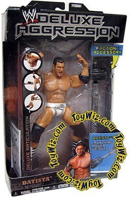 WWE DELUXE AGGRESSION BATISTA SERIES1