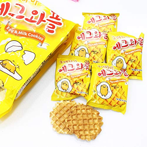 Sweet Egg and Milk Waffle Snacks 270g (1 Pack)