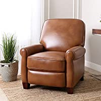 Push-Back Leather Catalina Recliner