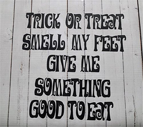 Halloween Trick Or Treat Faithful Saying for Wall Motivational Wall Words Inspirational Wall Decal
