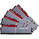 G.SKILL TridentZ Series 32GB (4x8GB) 288-Pin SDRAM DDR4 3200 (PC4 25600) Intel Z170 Platform / Intel X99 Platform Desktop Memory F4-3200C16Q-32GTZB