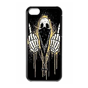 C-Y-F-CASE DIY Human Skull Pattern Phone Case For phone Iphone 5C hjbrhga1544