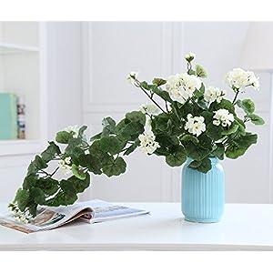 Lopkey Artificial Silk Begonia flowers Patio Lawn indoor Decor 47