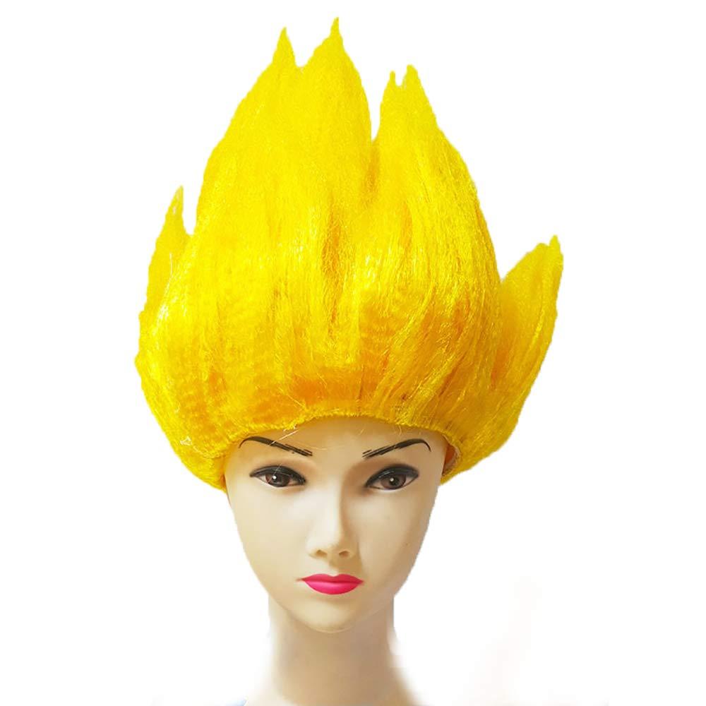 Amazon.com: Super Saiyan God Wig Dragon Ball
