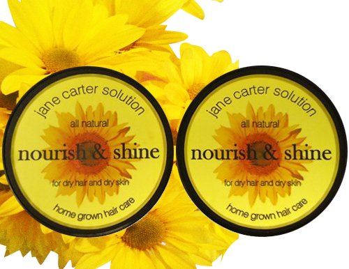 Shine Solution - Jane Carter Nourish & Shine, 4 oz, 2 pk