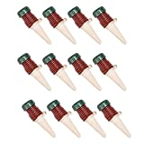 HooAMI 12 PCS Watering Stakes Automatic Slow Release Watering System for Houseplants