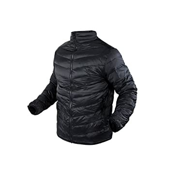 Amazon.com: Condor Men's Zephyr Lightweight Down Jacket Black ...