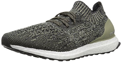 adidas Men's Ultraboost Uncaged, Trace Carbon/Black/Chalk Pearl, 13 M US ()