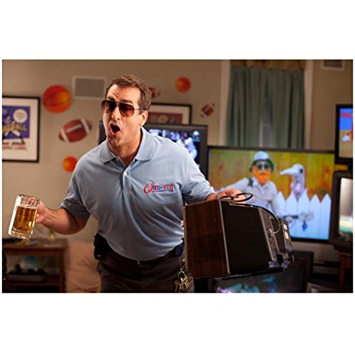 Nature Calls Rob Riggle as Gentry in Blue Polo and Sunglasses Holding Beer Mug 8 x 10 inch - Sunglasses Oneal