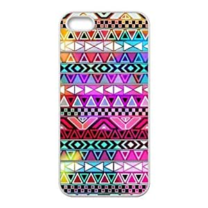 Floral Tribal Andes Aztec Hard Plastic Back Case Cover for Apple iPhone 5 5S-TOC-4
