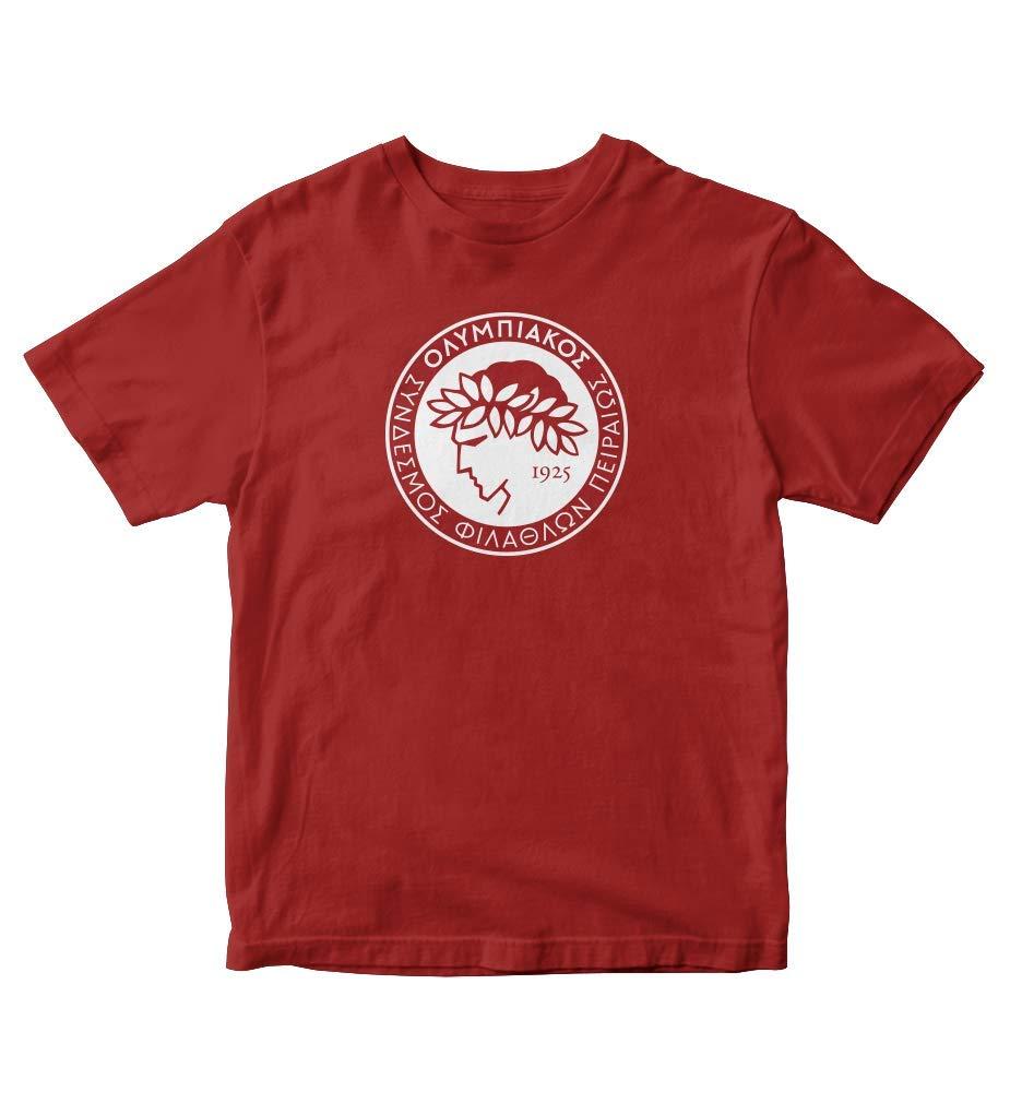 Tjsports Olympiacos Olympiakos T Shirt Fc Greece Soccer 6536