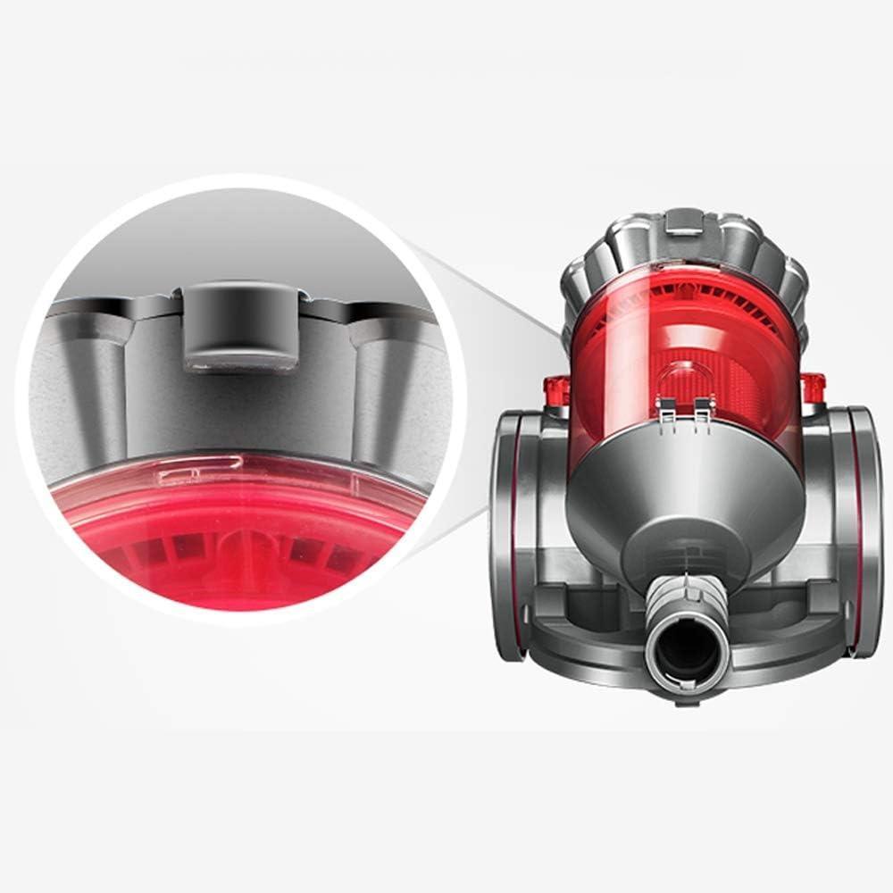 RKY Aspirateur - maison multi-fonctions 1600W haute puissance horizontale poche petit aspirateur de vitesse 11 vitesses, 36.8x17.6x31.6cm /-/-/ (Color : Red) Red