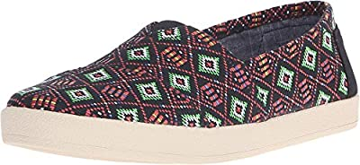 Toms Avalon Womens Shoes Black
