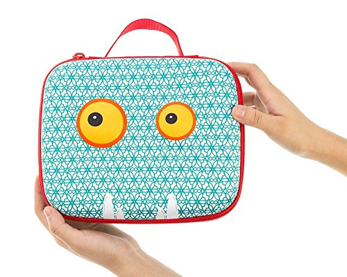 ZIPIT Beast Lunch Box, Blue Photo #5