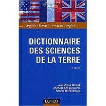 DICTIONNAIRE DES SCIENCES DE LA TERRE 4EME EDITION : ANGLAIS-FRANCAIS / FRANCAIS-ANGLAIS