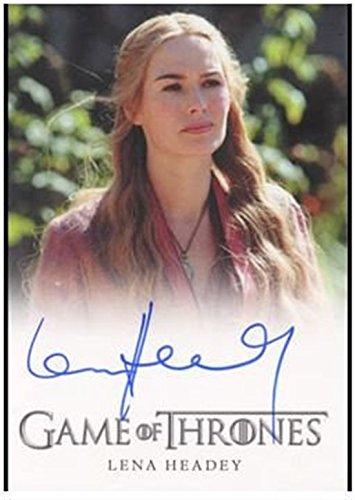 Game of Thrones Season Two 2 Autograph Card Lena Headey