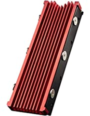 QIVYNSRY M.2 heatsink 2280 SSD dubbelzijdige koellichaam met thermische siliconen pad voor PCIE NVME M.2 SSD of NGFF SATA M.2 SSD