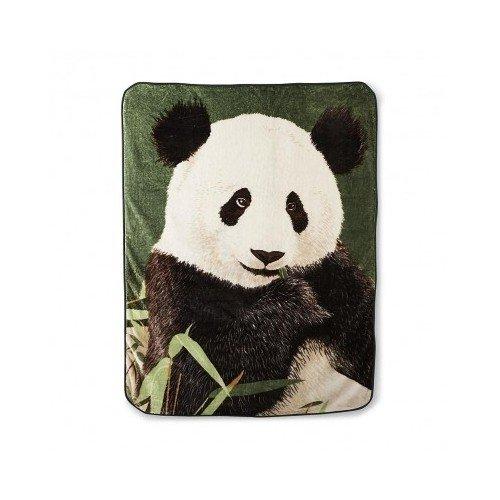Panda Bear and竹フリーススローブランケット、60 x 80インチ、スーパーソフトフリース B0169B2CIG