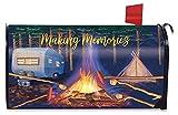 Briarwood Lane Making Memories Fall Mailbox Cover Camping Autumn Marshmallows Campfire Standard