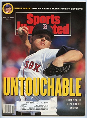SI: Sports Illustrated May 13, 1991 Roger Clemens, Baseball, Boston Red Sox, VG by Sports Illustrated