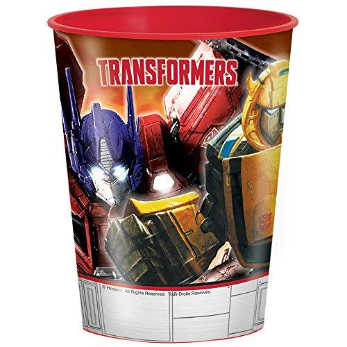 16oz Transformers Plastic Cup