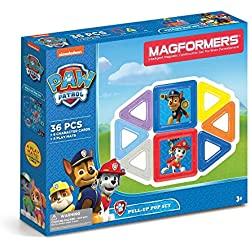 Magformers 66003 Building Kit, Paw Patrol Colors