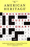 The American Heritage Crossword Puzzle Dictionary, , 0618280537