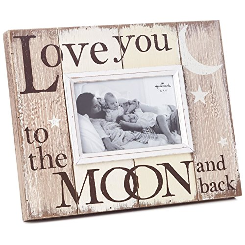 - Hallmark Milestones Love You to the Moon and Back Picture Frame, 6x4