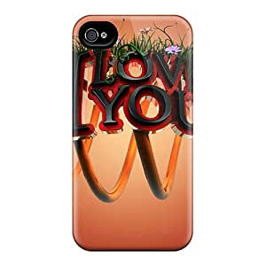 Casesmore166 VNG2947DgiO Cases Covers Skin For Iphone 6 (i Love You 3d) Black Friday